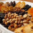 Dried Fruit and Nuts — Stock Photo