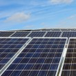 Stock Photo: Solar panels - Ecological Energy