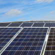 Solar panels - Ecological Energy — Stock Photo
