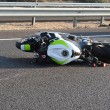 Motorbike Bicycle Road Accident -  