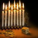 Jewish Holiday Hanukkah — Stock Photo