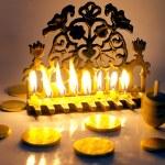 Jewish Holiday Hanukkah — Stock Photo #11117076