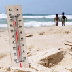 Heat Wave High Temperatures — Stock Photo