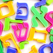 Hebrew Alphabet Letters — Stock Photo #11117161
