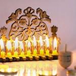 Jewish Holiday Hanukkah — Stock Photo #11117343