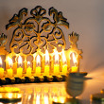 Jewish Holiday Hanukkah — Stock Photo #11117349