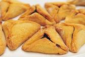 Purim Jewish Pastry Hamantashen — Stock Photo