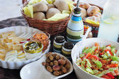 Mediterranean breakfast — Stock Photo