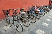 Bicycles, Beijing, China — Stock Photo