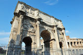 Triumphal Arch in Rome, Italy — Stock Photo