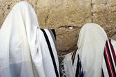Jewish Men Praying — Stock Photo