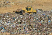 Garbage Recycling Center — Stock Photo