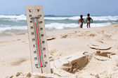 Heat Wave High Temperatures — Stock Photo