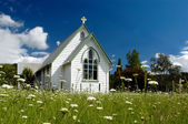 Church in New Zealand — Stock Photo