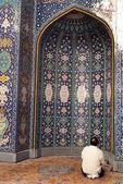 Sultan Qaboos Mosque Oman — Stock Photo