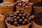 Spices in Aswan Market, Egypt — Stock Photo