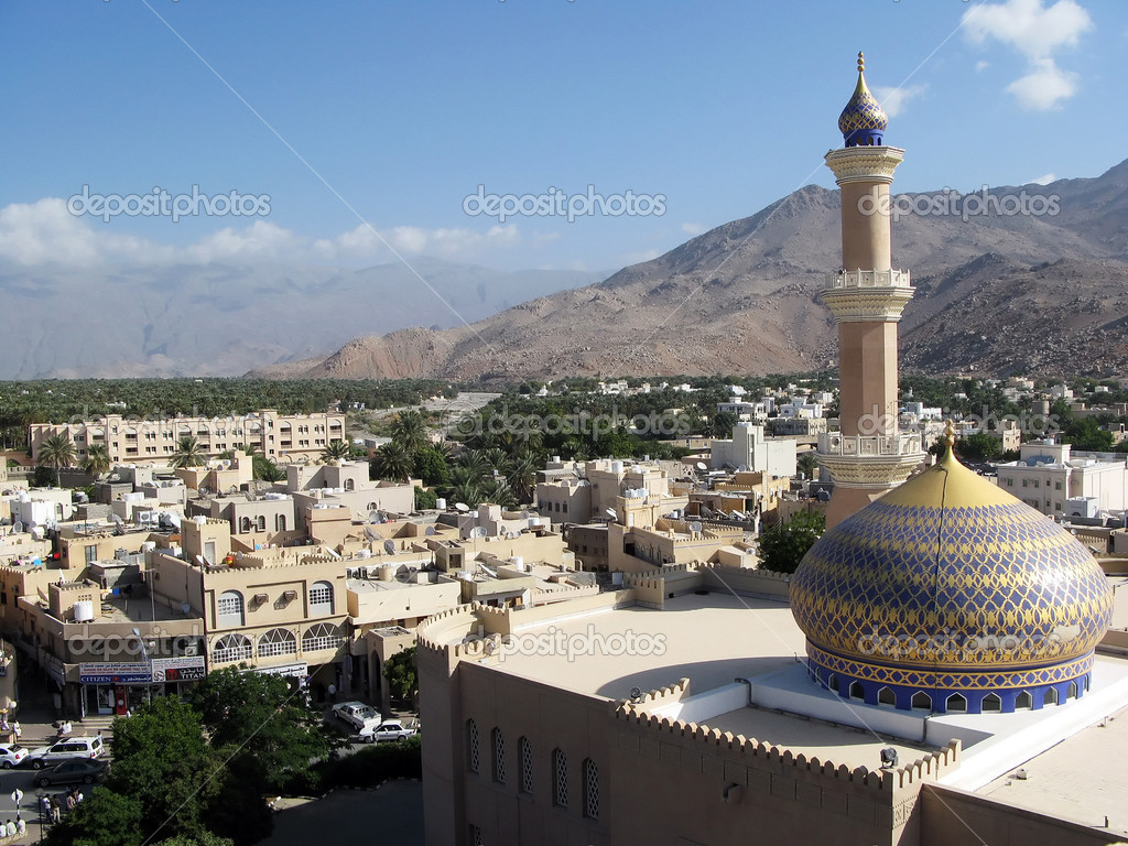 The Sultanate of Oman in the Middle East. — Stock Photo #11117165