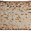 Traditional Jewish Matzo sheet on a Passover Seder table — Stock Photo #11134643