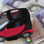 Concept Photo - Car Money Expenses — Stock Photo #11134726
