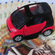 Concept Photo - Car Money Expenses — Stock Photo