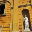 Stock Photo: Building and Statue in VaticCity