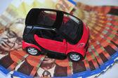 Concept Photo - Car Money Expenses — Stock Photo