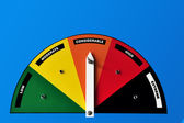 Warning Danger Advisory Sign — Stock Photo
