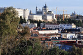 View of Madrid City, Spain — ストック写真