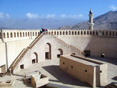 Nizwa Fort in Oman — Stock Photo