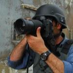 Press Photojournalist Photographer — Stock Photo #11144805