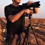 Nature Wildlife Photographer — Stock Photo #11144812