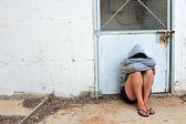 Abused Victim — Stock Photo