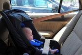 Baby Car Seat — Stock Photo