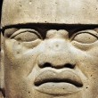 Olmec colossal head — Stock Photo