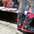 colorful boots — Stock Photo