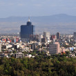 Mexico City Cityscape — Stock Photo