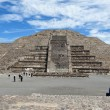 Pyramids of Teotihuacan — Stock Photo