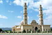 Mezquita de al qubrah en mascate omán — Foto de Stock