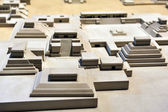 Model of Tenochtitlán, — Stock Photo