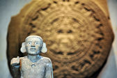 Stone of the Sun - Aztec Calendar — Stock Photo