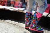 Stivali colorati — Foto Stock