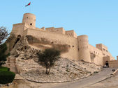 Nakhal Fort in Oman — Stock Photo