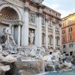 Fontana di Trevi Rome — Stock Photo