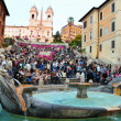 The Spanish Steps Rome — Stock Photo