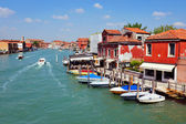 Venedik İtalya cityscape peyzaj — Stok fotoğraf