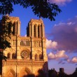 Stock Photo: Notre Dame, Paris, France