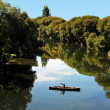 Fishing New Zealand South Island - Stockfoto