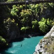 Bungy Jumping, Queenstown, NZ — Stock Photo