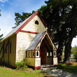 Stock Photo: Church in South Island New Zealand