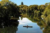 Fishing New Zealand South Island — Stock Photo